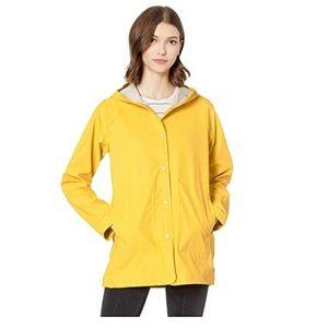 Herschel supply co yellow raincoat